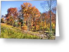 Fall In The Foothills Greeting Card