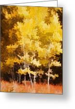 Fall In The Sierra II Greeting Card