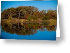 Fall Lake 4 Greeting Card