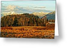 Fall Landscape-hdr Greeting Card