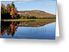 Fall On Lake Lila Greeting Card