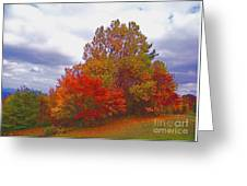 Fall Retreat Greeting Card
