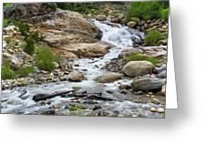 Fall River Falls Greeting Card