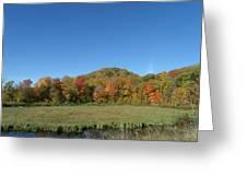 Fall River Mountain Greeting Card