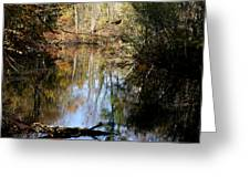 Fall River Undertones Greeting Card