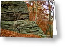 Fall Rock Greeting Card