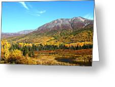 Fall Valley Greeting Card