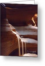 Falling Sands Greeting Card