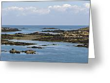 Falling Tide Iles Chausey Greeting Card