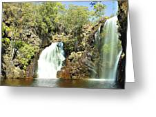 Falling Waters V2 Greeting Card