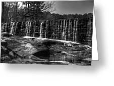 Falls At Yates Mill Greeting Card