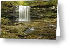 Falls Panorama Greeting Card