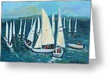 Falmouth Regatta Greeting Card