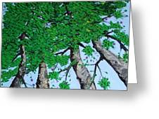 Family Trees Greeting Card