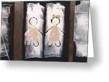 Family Triptych Greeting Card
