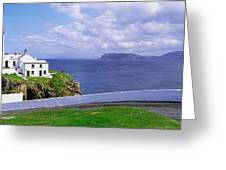 Fanad Head Lighthouse, Co Donegal Greeting Card