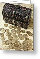 Fancy Treasure Chest  Greeting Card