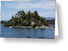 Fanette Island Tea Party Greeting Card