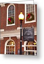 Faneuil Hall Greeting Card
