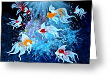 Fantailia Greeting Card
