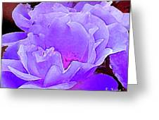 Fantasia Flower Greeting Card