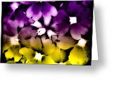 Fantasy Flax Greeting Card