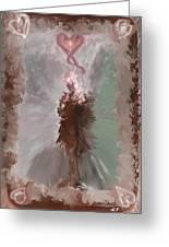 Fantasy Girl Greeting Card