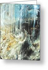 Fantasy Storm Greeting Card by Linda Sannuti