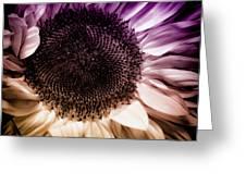 Fantasy Sunflower Greeting Card