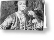 Farinelli (1705-1782) Greeting Card