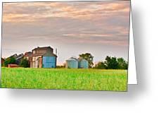 Farm Buildings Greeting Card