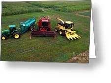 Farm Machinery Greeting Card