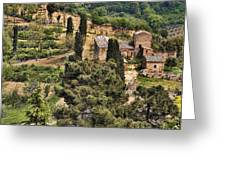 Farm Orvieto Italy Greeting Card