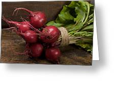 Farmer's Market Beets Greeting Card