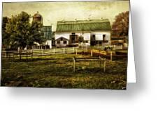Farmland In Intercourse - Pennsylvania Greeting Card