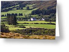 Farmland Near Kilgarvan County Kerry Greeting Card