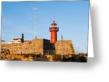 Farol Do Forte Sta. Catarina Greeting Card
