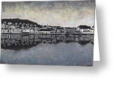 Farsund Waterfront Greeting Card