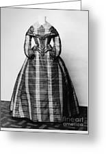 Fashion: Dress, C1865 Greeting Card