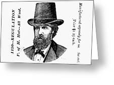 Fashion: Granger Hat Greeting Card