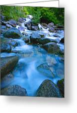 Fast-flowing River Greeting Card