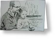 Father's Day Greeting Card by Lou Cicardo