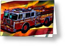 Fdny Engine 68 Greeting Card