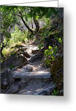 Feather Falls Stairway Greeting Card