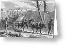 Federal Camp Contraband, 19th Century Greeting Card