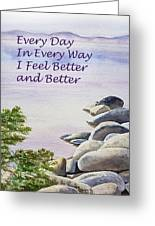 Feel Better Affirmation Greeting Card