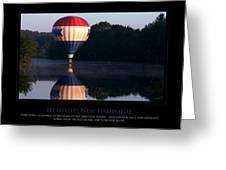 Feel Like Floating Greeting Card by Jim McDonald Photography