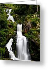 Feldberg Waterfall Greeting Card