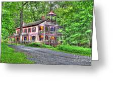 Feltville Historic District Store And Church  Greeting Card