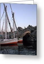 Felucca Parking Greeting Card